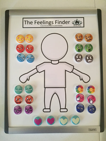 Feelings Finder Emotional Awareness Board