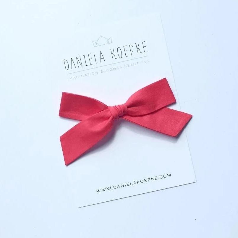 La Grande Oversized Handtied Bow // Watermelon
