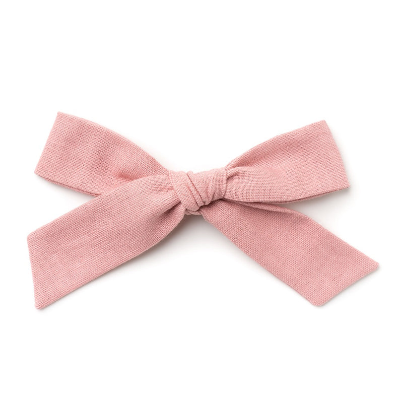 La Grande Oversized Handtied Bow // Teaberry