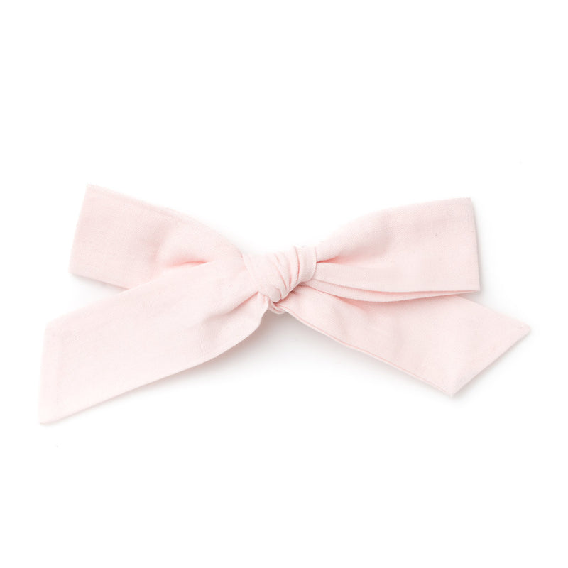 La Grande Oversized Handtied Bow // Lilly