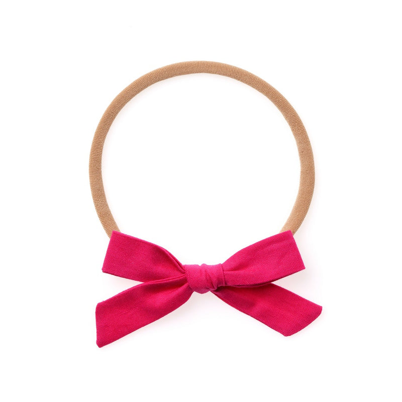 La Petite Handtied Bow // Princess - Headband or Clip