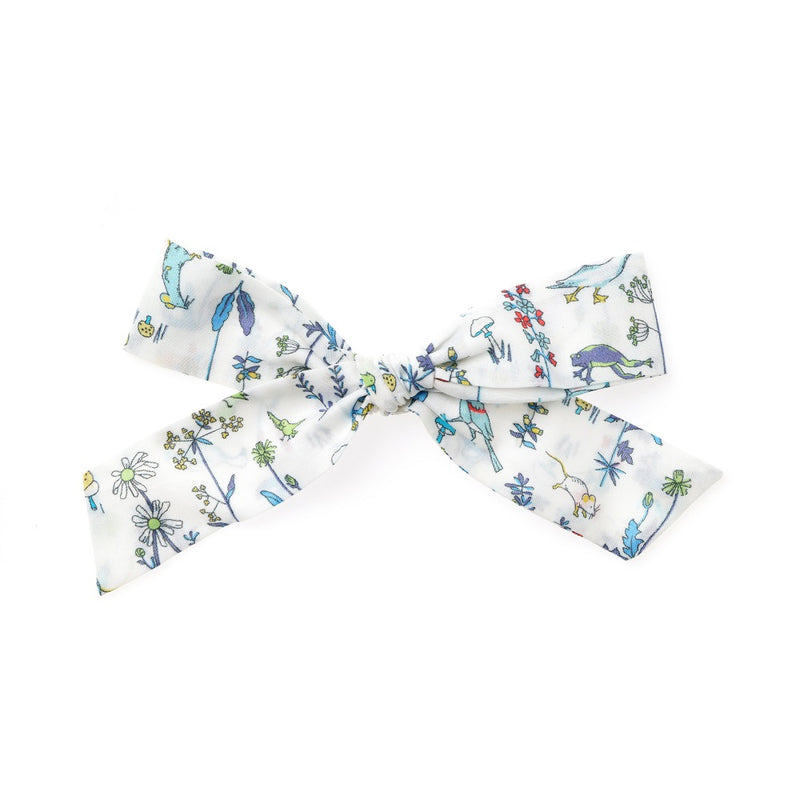 La Grande Oversized Handtied Bow // Lily Pond