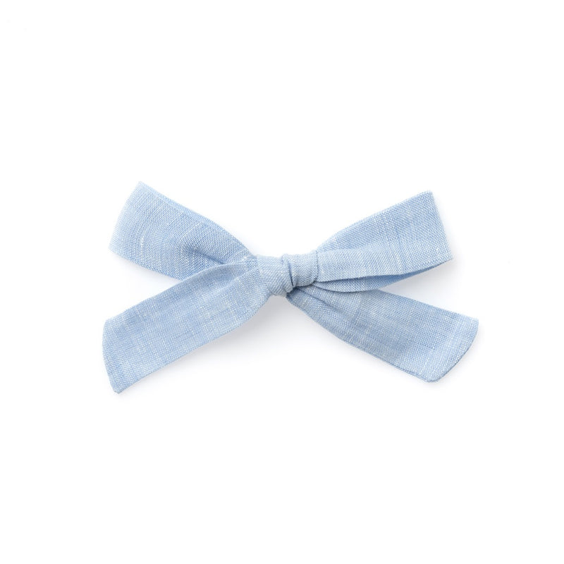 The Lucy Handtied Medium Bow // Lakeside