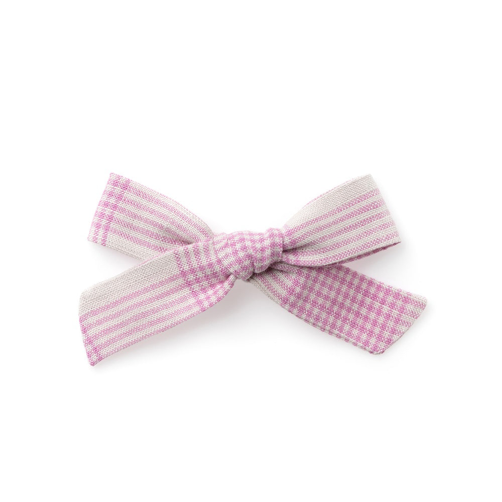 The Lucy Handtied Medium Bow // September Picnic