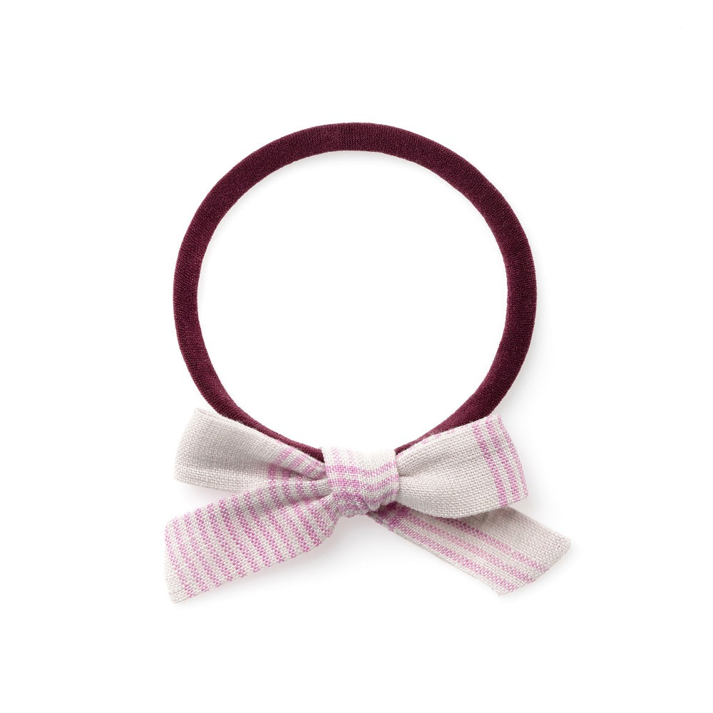 La Petite Handtied Bow // September Picnic - Headband or Clip