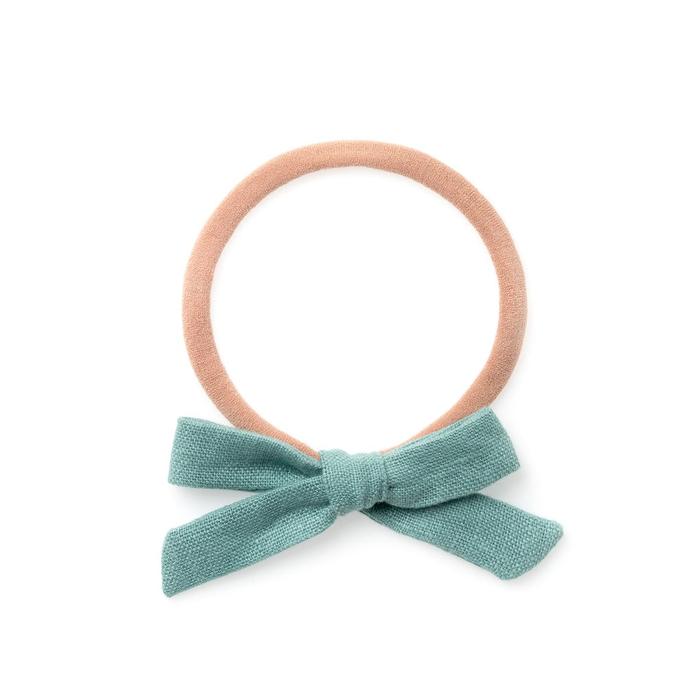 La Petite Handtied Bow // Cozy Day - Headband or Clip