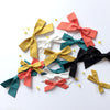 The Lucy Handtied Medium Bow // Clay