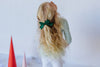 La Grande Oversized Handtied Bow // Hunter
