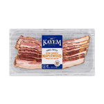Kayem Maple Thick Cut Bacon 3/12 oz packages