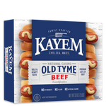 Kayem Old Tyme Beef 16 Franks 2 lb box