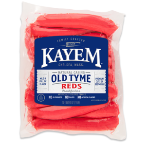 KAYEM Old Tyme Natural Casing Reds, 2.5 LB