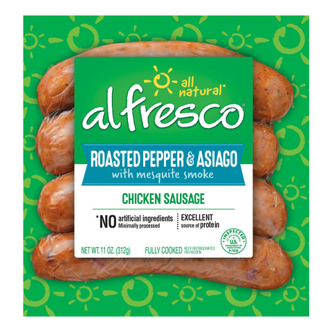 al fresco Chicken Sausage Roasted Pepper & Asiago