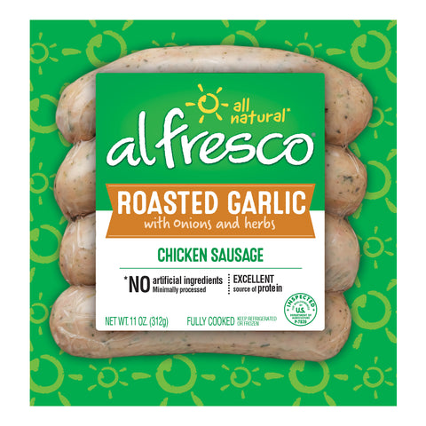al fresco Chicken Sausage Roasted Garlic