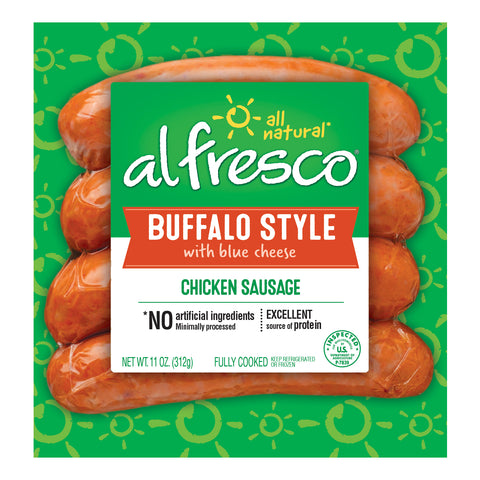 al fresco Chicken Sausage Buffalo Style