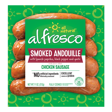al fresco Chicken Sausage Smoked Andouille