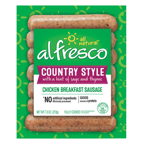 al fresco Breakfast Chicken Sausage Country