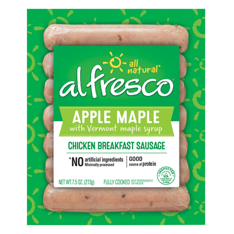 al fresco Breakfast Chicken Sausage Apple Maple