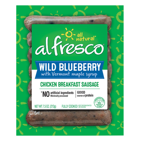 al fresco Breakfast Chicken Sausage Wild Blueberry