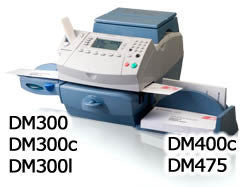 Item 7001: PB DM 300, DM 300C, DM 300L, DM 400c, DM 475 Compatible Label