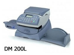 Item PW 445: PB DM200L Compatible Label