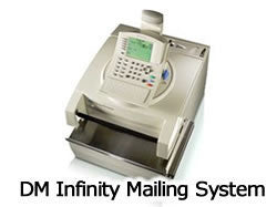 Item 772-1: DM Infinity Mailing System Twin Pack Black Genuine Ink Cartridges