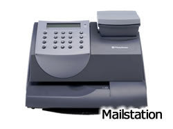 Item PW 445: PB Mailstation Compatible Label