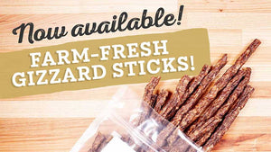 Farm Hounds Gizzard Sticks!