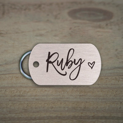 Custom Military Pet ID Tag, LPTC10257