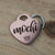 Pet ID Tag, Dog Tag, Heart, Stainless Pet ID Tag