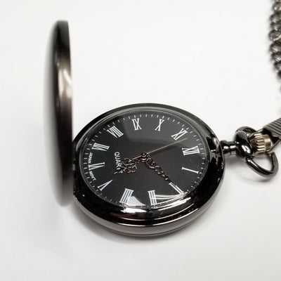 Laser Engraved Custom Pocket Watch, Personalized Metal, For Groomsmen, Mens Jewelry, Wedding Gift, For Him, For Men LGC10377