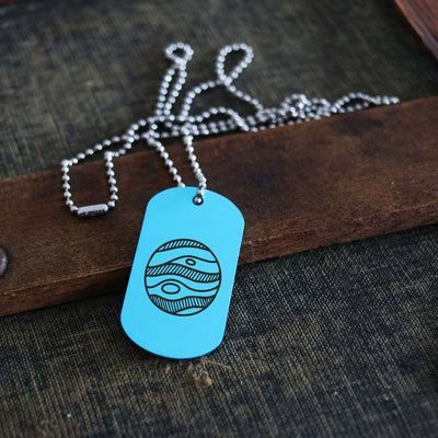 Men's Dog Tag, Wedding Gift, Jupiter, Planet, Solar System, Gift For Him, Personalized Necklace, Custom Keychain, Key Chain, LGC10479
