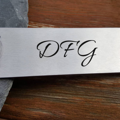 Laser Engraved Personalized Beer Bottle Opener, Initials for Him, Laser  Stainless, Anniversary Present, LGC10315