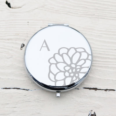 Laser Engraved Bridesmaids Gift, Personalized Compact or Pocket Mirror, Magnified, LGC10492
