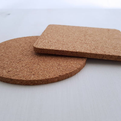 Laser Engraved Single Custom Cork Coaster, For Couple, Laser-, Personalized Wedding Gift, Housewarming Present, LGC10270