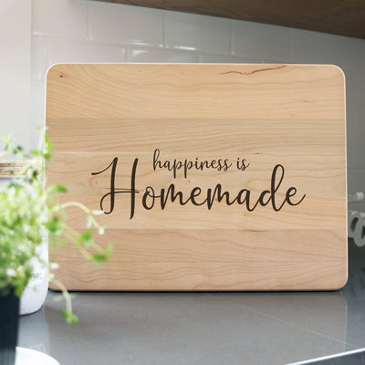 Laser Engraved Personalized Cutting Board, Homemade Gift for Chef,  Charcuterie Block for Cook, LGC10542