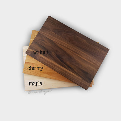 Laser Engraved Actual Recipe Block,  Personalized Cutting Board, Custom Grandma Gift, for Cook