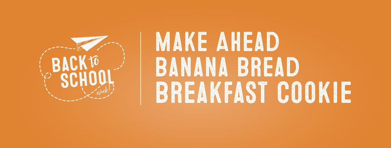Make Ahead Banana Bread Breakfast Cookie