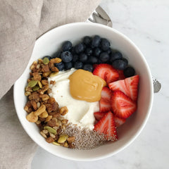 Maple Butter Yogurt Bowl