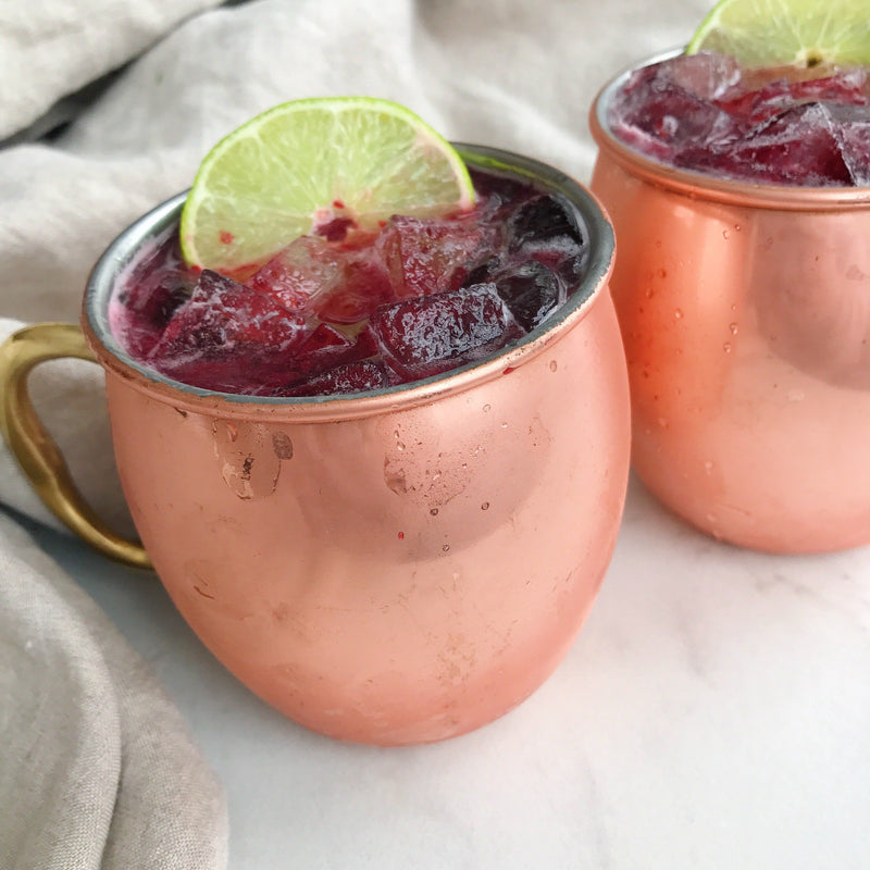 Blackberry Maple Moscow Mule