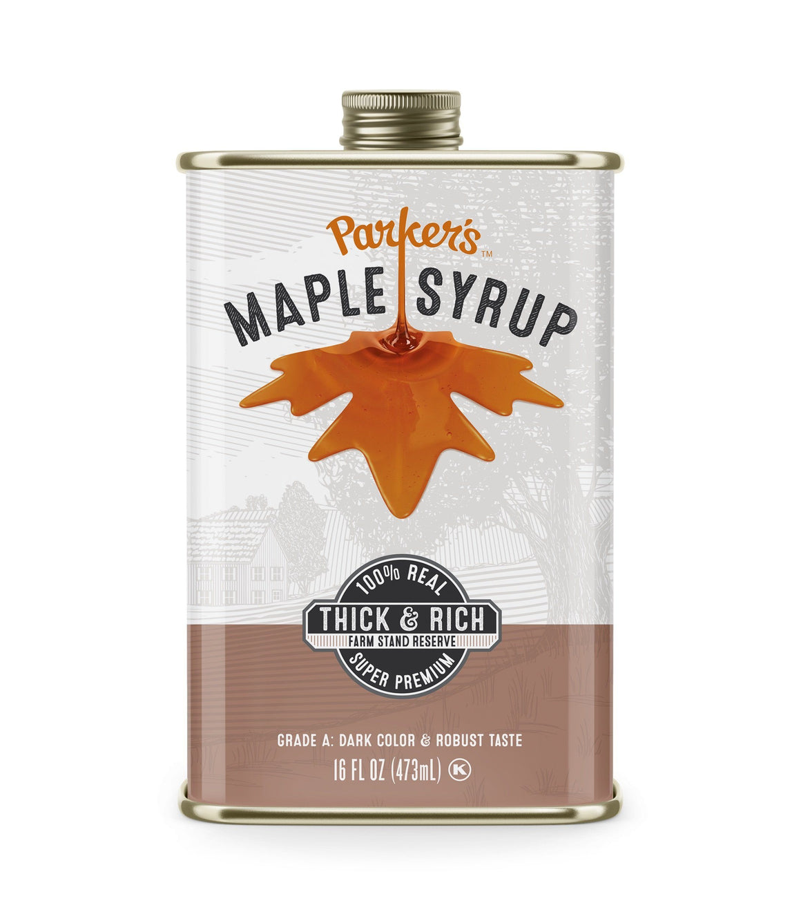 Traditional Thick & Rich Maple Syrup