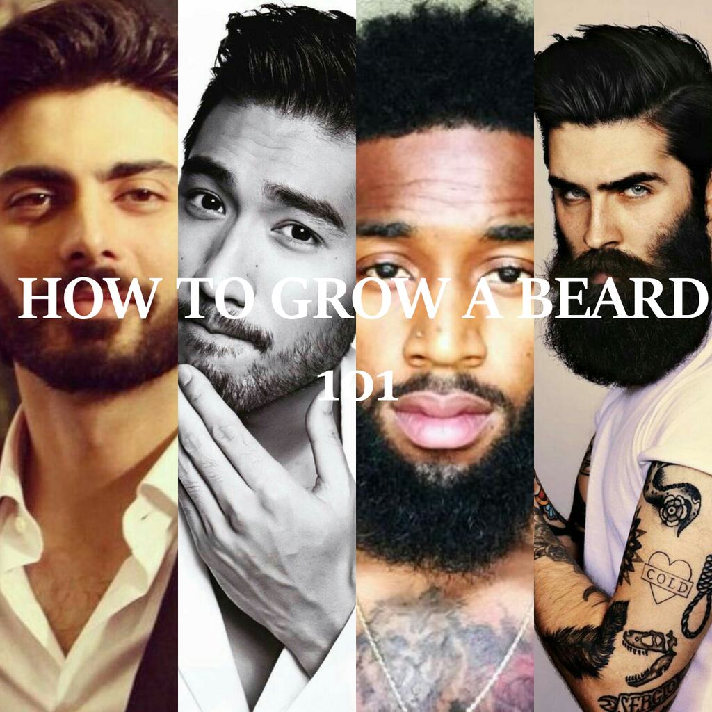 How to Grow A Beard 101