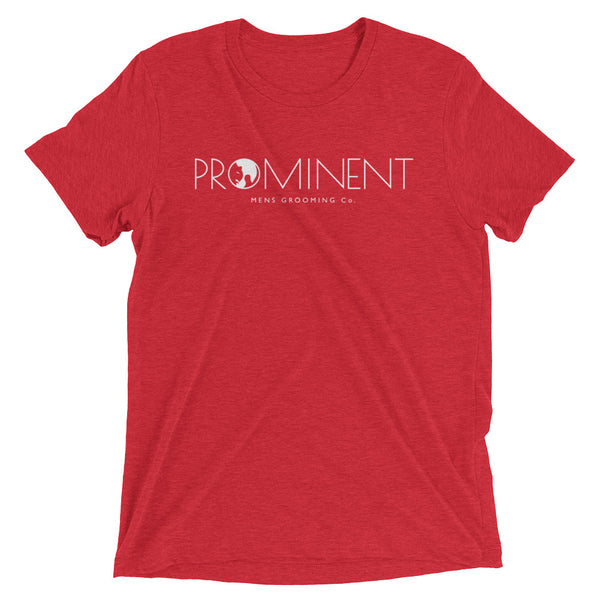 Prominent  white logo Tee - the PROMINENT