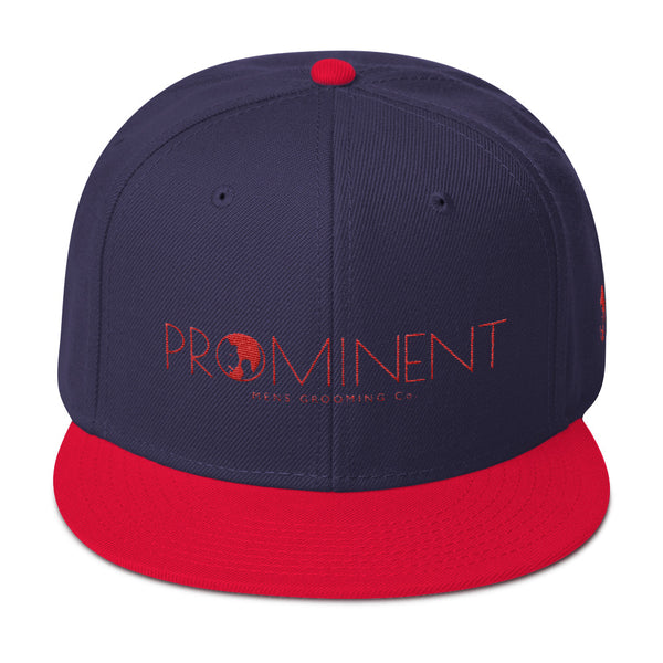 Reds & Blues Prominent  Snapback Hat - the PROMINENT