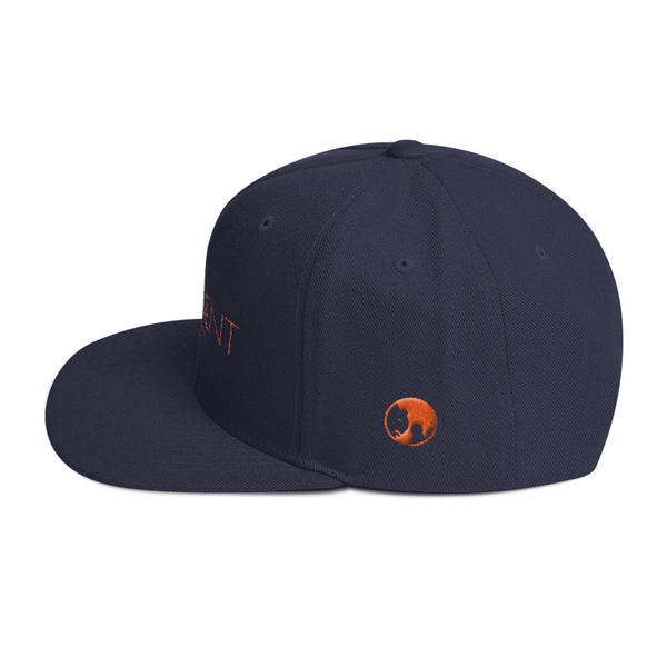 NAVY & TIGER PROMINENT Snapback Hat - the PROMINENT