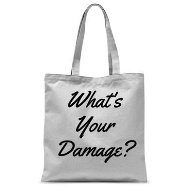 What's Your Damage? Tote Bag