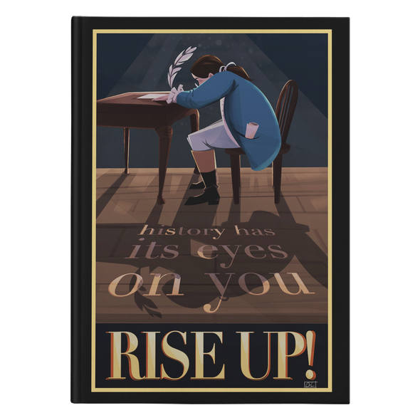 Rise up! Hardcover Journal