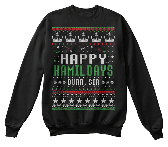 Hamilton musical ugly sweater