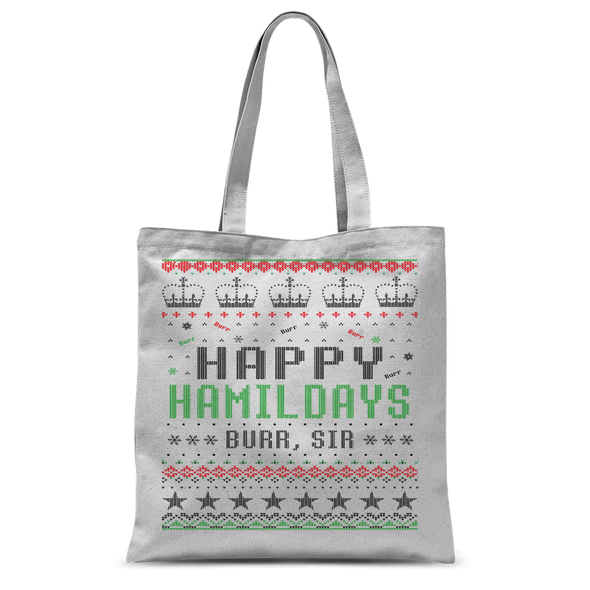 Happy Hamildays Tote Bag