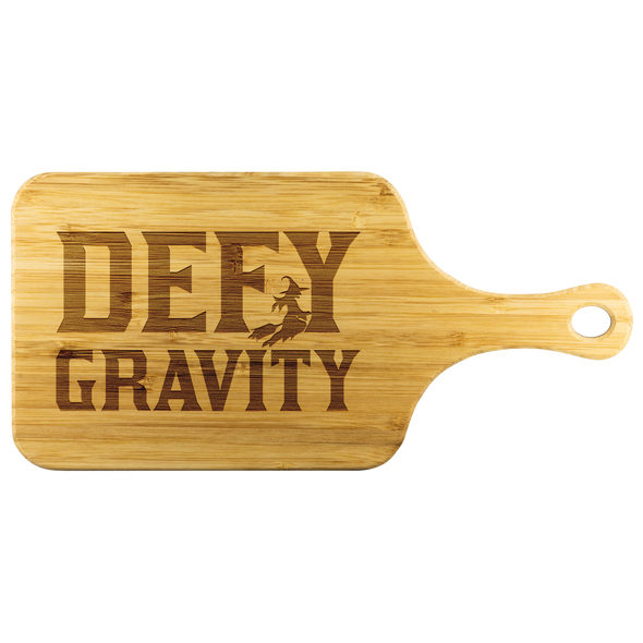 Defy Gravity wicked musical cutting board
