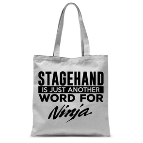 Stagehand Ninja Tote Bag